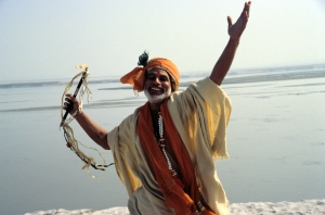 Joyful Sadhu from Short Cut to Nirvana film
